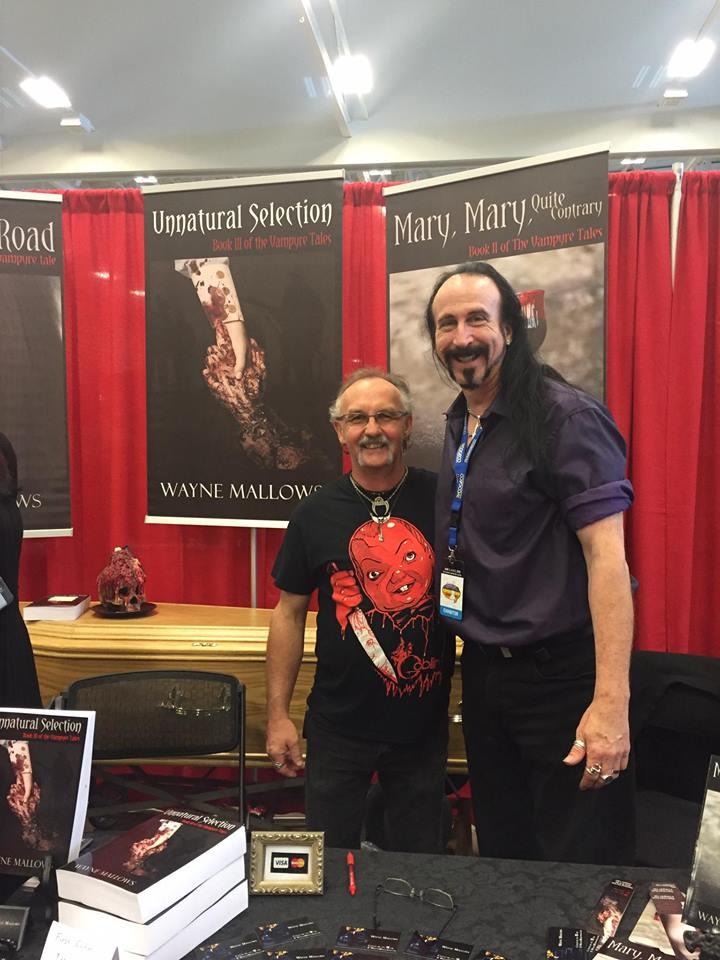 Our friend Steve and Wayne at Niagara Falls Comic Con 2016