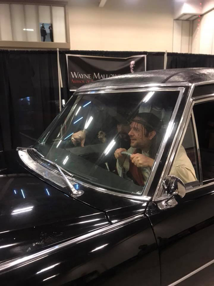 Jesus take the wheel!