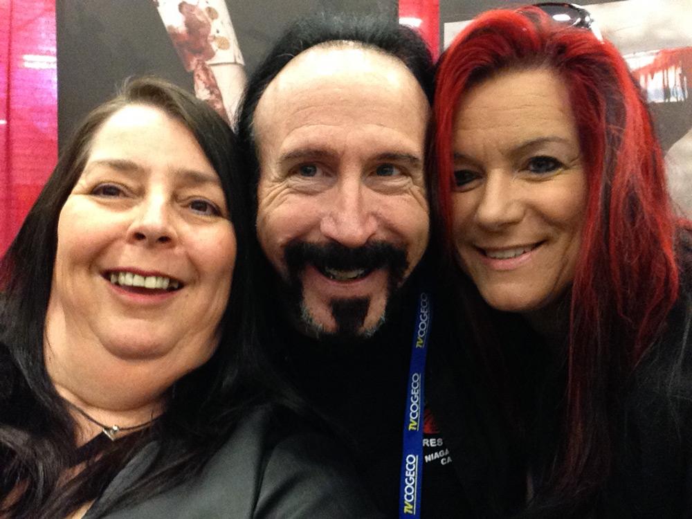 Niagara Falls Comic Con 2015 Ali, Wayne & Michelle having a laugh.