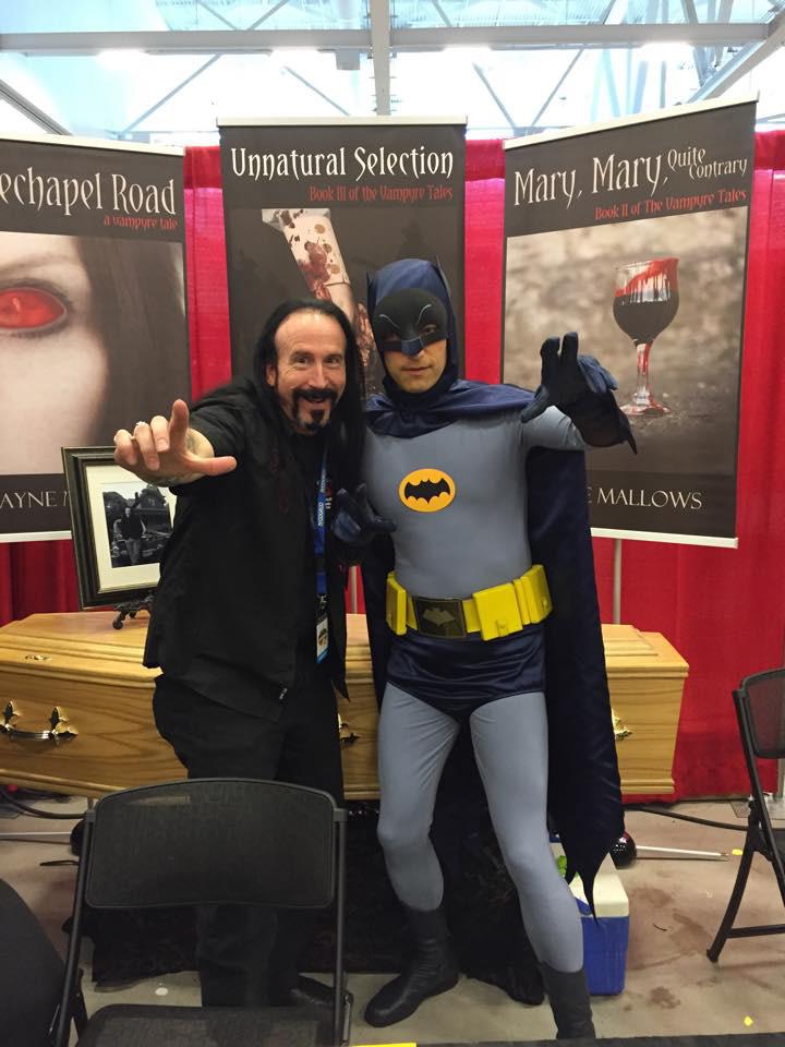 Niagara Falls Comic Con 2015 Wayne & Batman
