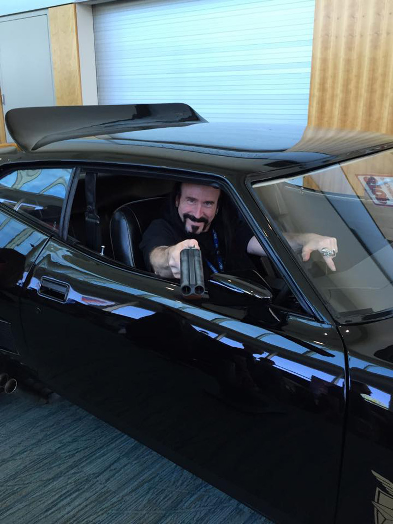 Niagara Falls Comic Con 2015 Fun in the Mad Max Car